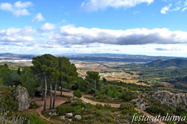 Albinyana - Castell de l'Esquernosa o de l'Esquena Rosa