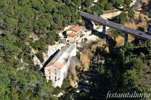Cabrera d'Anoia - Casal senyorial dels Móra - Vistes panoràmiques