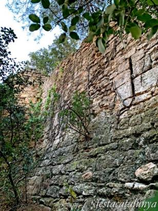 Cabrera d'Anoia - Castell antic de Cabrera