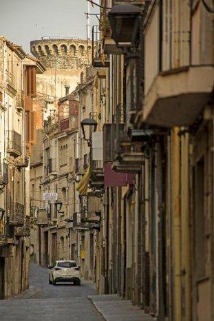 Hostalric - Carrer Major (Foto: Turisme Hostalric)