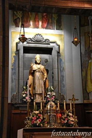 Sant Celoni - Església parroquial de Sant Martí - Baldaquí