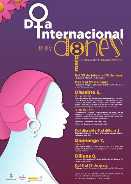 Begur i Esclanyà, amb el Dia Internacional de les Dones