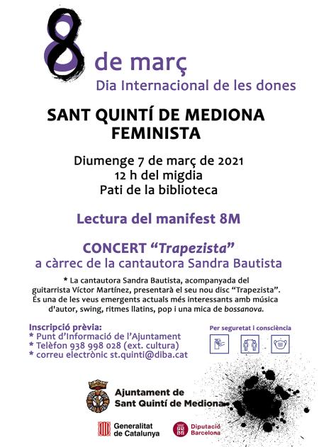 Sant Quintí de Mediona - Dia Internacional de les Dones