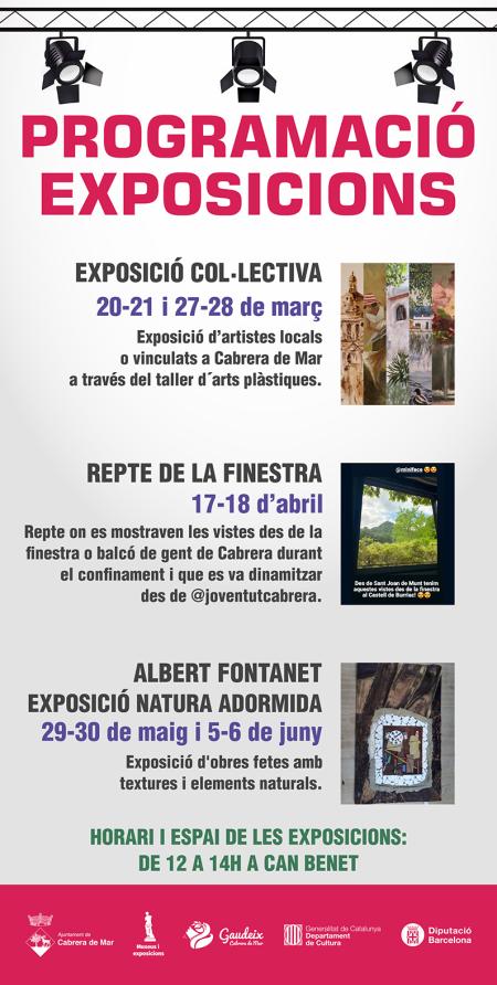 Cabrera de Mar - Programació Exposicions