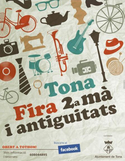 Tona - Mercat de Segona Mà i Antiguitats