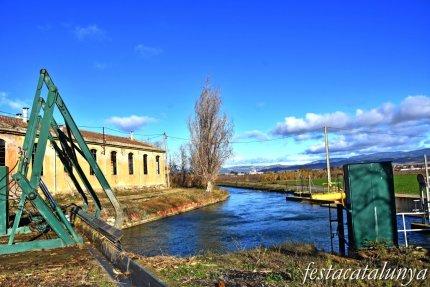 Alguaire - Colònia tèxtil i antiga fàbrica de filatures de la Mata de Pinyana