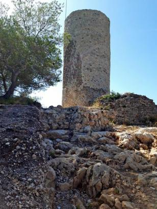 Castellví de la Marca - El Castellot (Foto: Mapa Patrimoni Diputació Barcelona i Ajuntament)