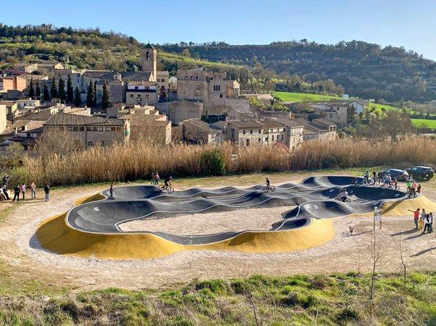 Vallfogona de Riucrob - Pump Track de Vallfogona de Riucorb (Foto: Ajuntament)