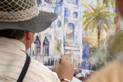 Premi Internacional Tossa de Mar de la Pintura Ràpida (Foto: Oficina de Turisme de Tossa de Mar)