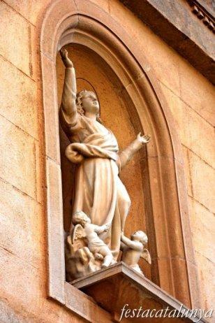 Vila-rodona - Església parroquial de Santa Maria