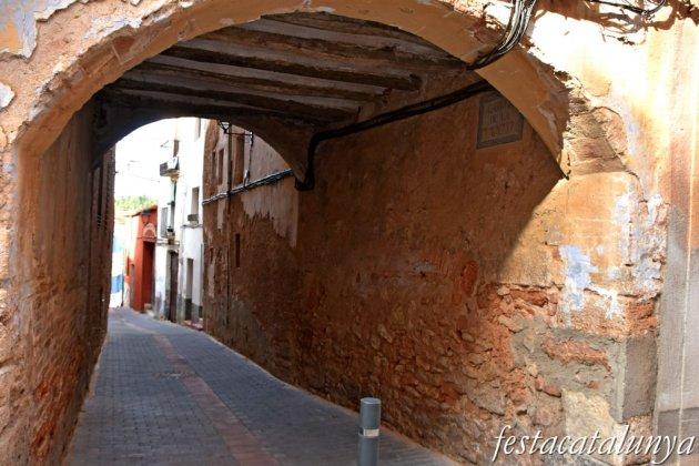 Vila-rodona - Volta del carrer de la Claveguera