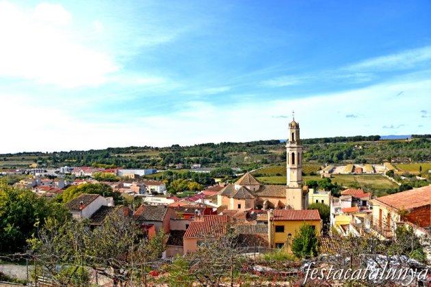 Vila-rodona - Vistes panoràmiques des del castell