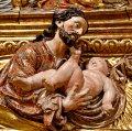 Retaule de Santa Maria Magdalena a l'església parroquial de Santa Magdalena del Pont d'Armentera ***