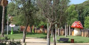 Malgrat de Mar - Parc Francesc Macià, el Parc de les Escultures Gegants (Foto: www.turismemalgrat.com)
