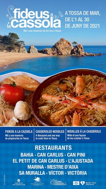 Tossa de Mar - Campanya Gastronòmica Els Fideus a la Cassola