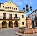 Plaça Major de Bellcaire d'Urgell