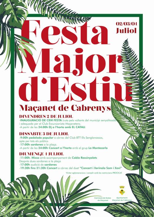 Maçanet de Cabrenys - Festa  Major