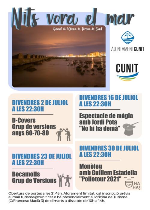 Cunit - Nits vora el mar