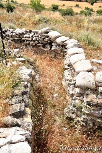 Bellcaire d'Urgell - Trinxeres del Morinyol de la guerra civil