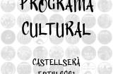 Programa Cultural d'Estiu a Castellserà