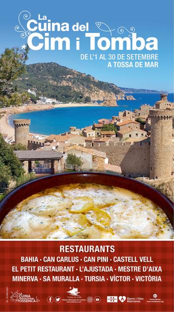 Tossa de Mar - Campanya Gastronòmica de La Cuina del Cim i Tomba
