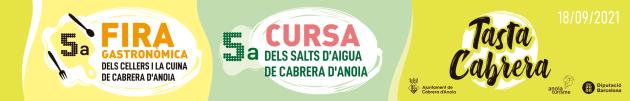 Cabrera d'Anoia - Cursa dels Salts d'Aigua i Fira Tasta Cabrera