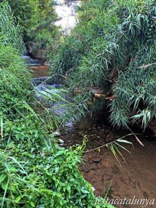 Montoliu de Lleida - Los Patamolls - Desembocadura Canal Urgell al Segre