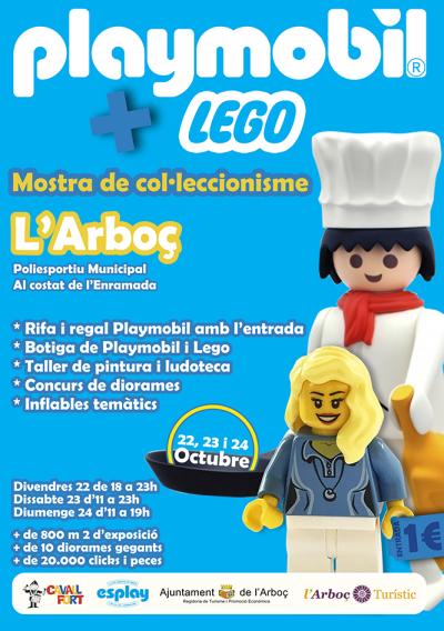 L'Arboç - Mostra de Col·leccionisme Playmobil i Lego