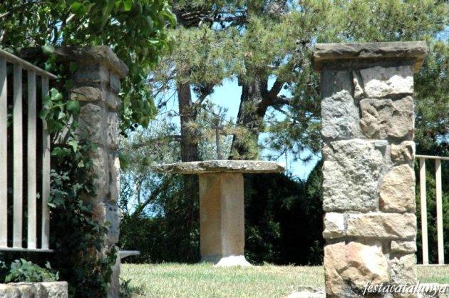 Talamanca - Plaça de la Creu