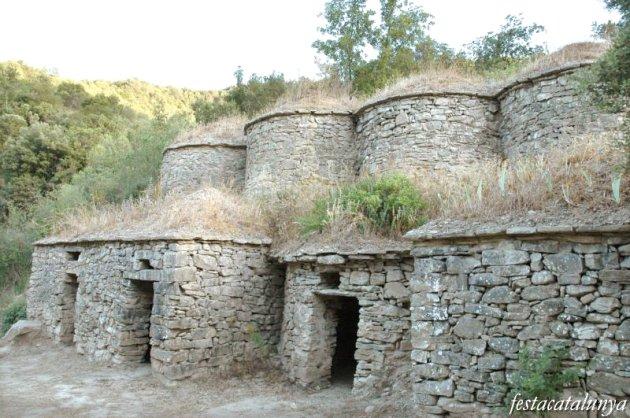 Pont de Vilomara i Rocafort, El - Tines de la Bleda a la vall del Flequer