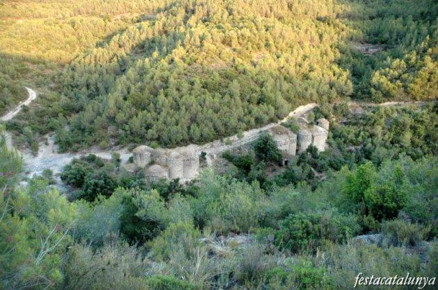 Pont de Vilomara i Rocafort, El - Tines de l'Escudelleta a la vall del Flequer