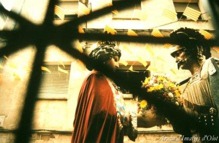 Olot - Festes del Tura (Foto: Quim Roca. Els Gegants d'Olot. Arxiu d'Imatges d'Olot)