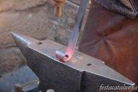Besalú - Fira de Forjadors i Artistes del Ferro, ferrer, foc