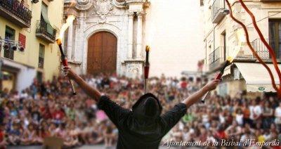 Bisbal d'Empordà, La - Fira de Circ al Carrer (Foto: Ajuntament de la Bisbal d'Empordà)