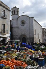 Vilafranca del Penedès - Mercat dels dissabtes