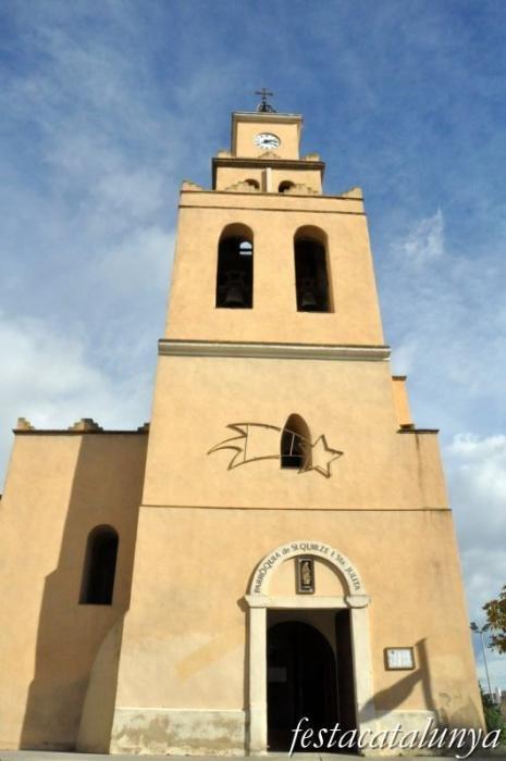 Esgl sia parroquial de sant quirze i santa julita fires - Tiempo en sant quirze ...