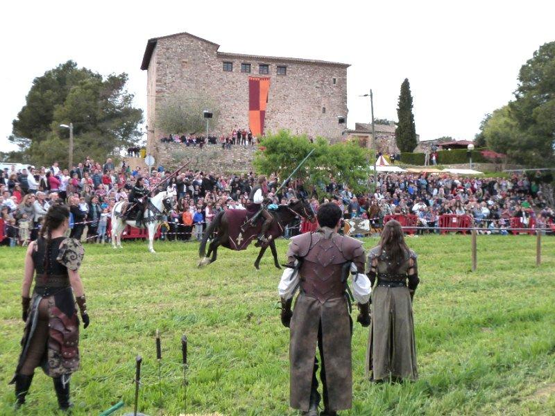 Mercat medieval a palau solit i plegamans fires festes - Inmobiliaria palau de plegamans ...