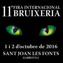 Sant Joan les Fonts - Fira de Bruixeria 2016