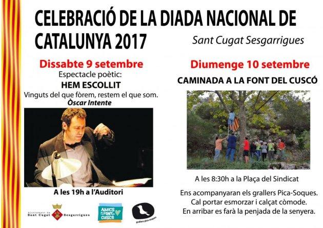Sant Cugat Sesgarrigues - Diada Nacional de Catalunya
