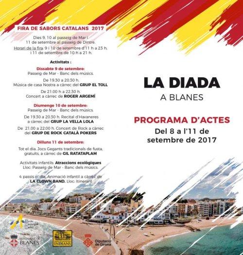 Blanes - Diada Nacional de Catalunya