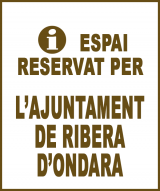 Ribera d'Ondara - Anunci no disponible