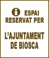 Biosca - Anunci no disponible