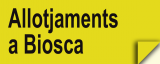 Allotjaments a Biosca