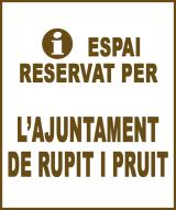 Rupit i Pruit - Anunci no disponible
