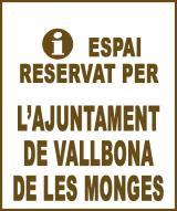 Vallbona de les Monges - Anunci no disponible