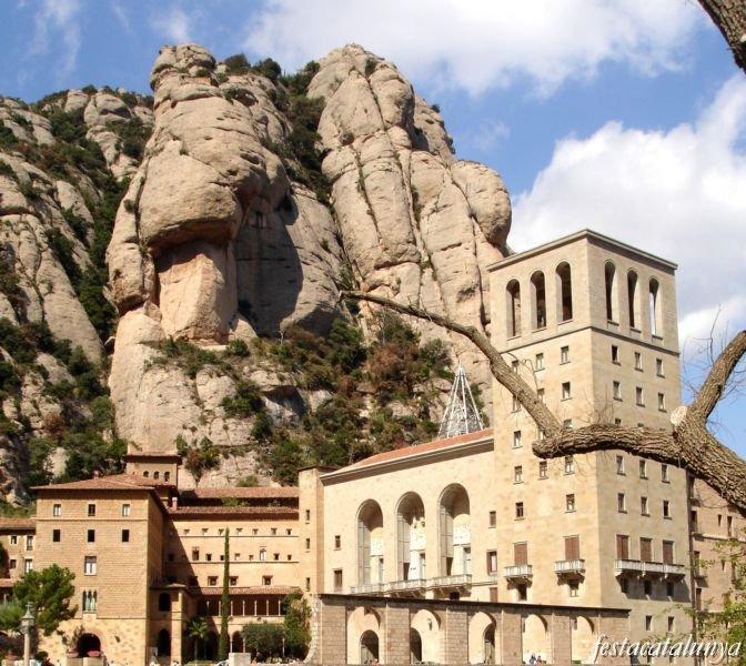 Resultat d'imatges de monestir montserrat