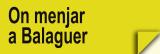 On Menjar a Balaguer (Restaurants)