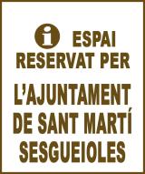 Sant Martí Sesgueioles - Anunci no disponible
