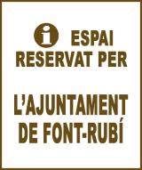Font-rubí - Anunci no disponible