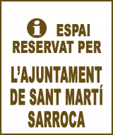 Sant Martí Sarroca - Anunci no disponible
